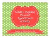 Holiday Shopping Percent Applications Activity