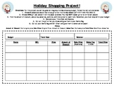 Holiday Shopping (Sales Tax and Discount) Project!