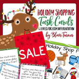 Holiday Shopping Task Cards