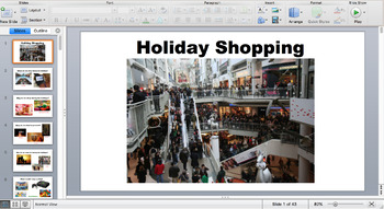 Holiday Shopping for Functional Living Skills