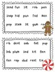 Holiday Short Vowel Word Reading