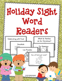 Holiday Sight Word Books