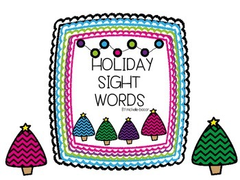 Holiday Sight Words