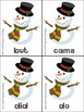 Holiday First Grade Sight Words