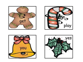 Holiday Sight Words: Write the Room