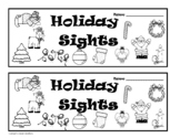 Holiday Sights Guided Reading Booklet