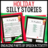 Holiday Parts of Speech Silly Stories Grammar Activity
