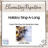 Holiday Sing-A-Long (Editable)