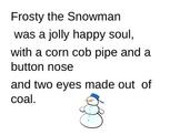 Holiday Sing-Along Lyrics Powerpoint