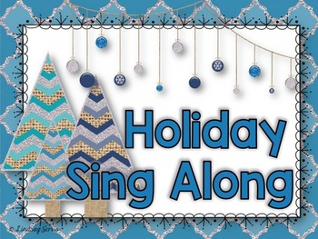 Holiday Sing Along Powerpoint {Editable Add On}