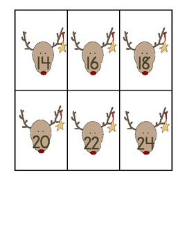 Holiday Skip Counting: 2s, 5s, and 10s