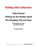 Holiday Skit Collection--All Female Roles