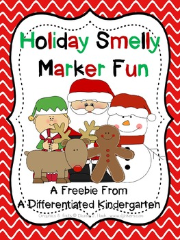Holiday Smelly Marker Fun-Editable