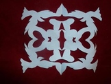 Holiday Snowflake Cut Outs