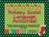 Holiday Social Language Activities!