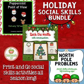 Christmas Social Skills Bundle