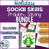 Holiday Social Skills Problem Solving Bundle- SAVE!