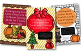 Holiday Social Skills Situation Cards Bundle Pack