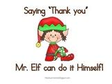 Social Story: Saying Thank you