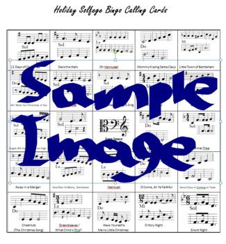 Holiday Solfege Bingo!