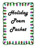 Holiday Poem Packet