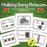 Holiday Song Rebuses: Versatile, Interactive Bulletin Board or Game