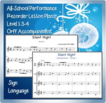 Holiday Song for Recorder: Silent Night