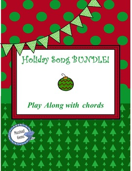 Holiday Songs Play Along Bundle