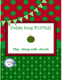 Holiday Songs Play Along Bundle