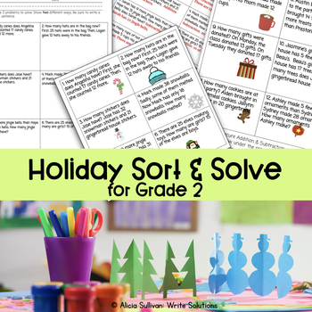 Holiday Sort & Solve