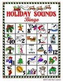 Holiday Sounds Bingo (Christmas Bingo with SOUND EFFECTS)