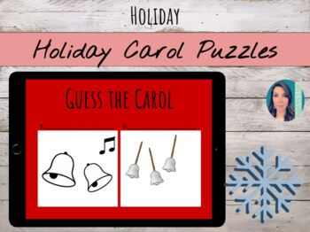 Holiday Sounds of the Season: Song puzzles & riddles