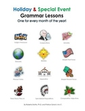 Holiday & Special Event Grammar Lessons: One for Every Mon