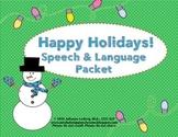 Holiday Speech & Language Activities