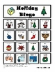 Holiday Speech Language Therapy: Receptive-Expressive  Bingo &  Activity Set