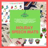 Holiday Speech Mats