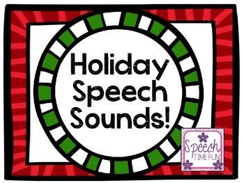 Holiday Speech Sounds