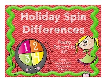Holiday Spin a Factor-A Factor Spinner Center!