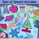Speech Therapy Activities | articulation and language | Glue practice