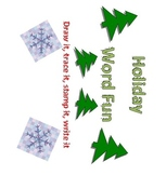 Holiday Stamp Words