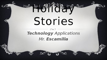 Holiday Stories - Directions