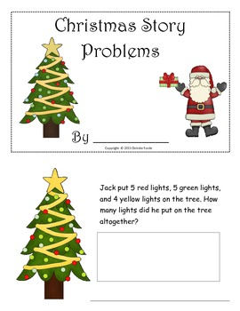 Holiday Story Problems