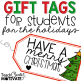 Holiday Student Gift Tags