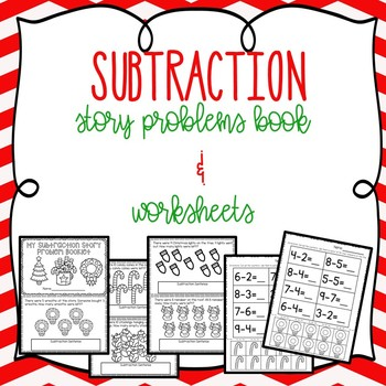 Holiday Subtraction Freebies (K-1)
