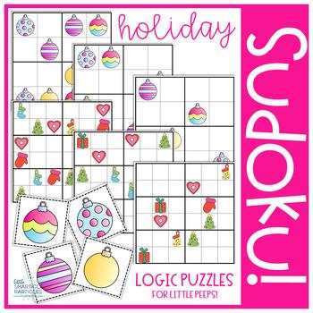 Christmas Ornament Sudoku Puzzles