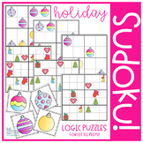 Christmas Ornament Sudoku Puzzles