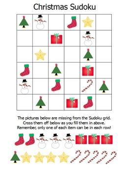 Holiday Sudoku Puzzles