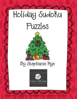 Holiday Sudoku Puzzles