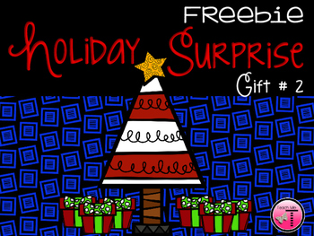 Holiday Surprise Freebie  Gift #2
