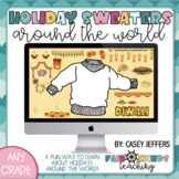 Holiday Sweaters Around the World - Decorate your own!
